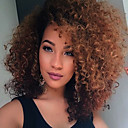 cheap Synthetic Capless Wigs-Synthetic Wig Curly Synthetic Hair African American Wig Wig Medium Length Capless