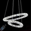 abordables Lámparas Colgantes-Moderno Lámparas Araña Luz Ambiente - Cristal / Ajustable / Regulable, 110-120V / 220-240V, Regulable con control remoto, Fuente de luz