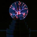 cheap Night Lights-Magic Plasma Ball kids room Party decor Electrostatic Sphere Light Gift Lightning Crystal Luminaria Touch Plasma Ball Lamp Electrostatic Sphere Light