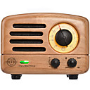 cheap Radio-MAO KING MW-2 FM Portable Radio FM Radio / Built in out Speaker World Receiver Light Brown