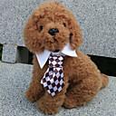 halpa Koiran vaatteet-Kissa Koira Solmio/Rusetti Koiran vaatteet Musta Kahvi Punainen Vihreä Sateenkaari Teryleeni Asu Lemmikit Miesten Cosplay Häät