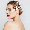 povoljno Nakit za kosu-Žene Cvijet Zabava Vjenčanje Biseri Imitacija bisera Legura Ukosnica Nakit za kosu Čari za kosu Vjenčanje Party
