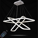 cheap Chandeliers-Pendant Light Ambient Light Painted Finishes Aluminum Acrylic Multi-shade, Adjustable, Dimmable 110-120V / 220-240V Dimmable With Remote Control LED Light Source Included / LED Integrated