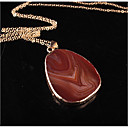 cheap Necklaces-Women's Onyx Pendant Necklace - Fashion Purple, Rose Red, Light Blue Necklace For Wedding, Party, Birthday / Graduation / Gift / Daily