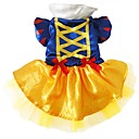 cheap Pet Christmas Costumes-Dog Costume Dog Clothes Princess Blue Silk Mesh Costume For Pets Women's Cosplay