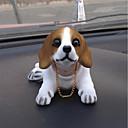 olcso Autós függők, díszítőelemek-DIY autóipari medálok babák rázta a fejét kutya díszítő kellékek kreatív kreatív kölyökkutya beagle kutya autó medál&Díszítő gyantát