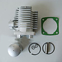 billige Beskyttelsesutstyr-40mm lomme sykkel sylinderstempelsett for 2 takts skitt pit sykkel gass scooter motorisert sykkel mini quad