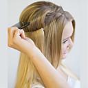 olcso Felragasztható póthajak-Flip In Human Hair Extensions Klasszikus Emberi haj tincsek Emberi haj Haló hajhosszabbítás Női - Blonde Platinaszőke sötét Wine