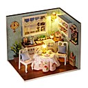 cheap Masks-DIY Famous buildings House Wooden Pieces Kid's Girls' Toy Gift