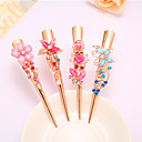 cheap Hair Accessories-Complex Classic Hairpin Hair Ornaments Palace Hairpin National Wind Hair Ornaments Diamond Tassel Step Shake Crystal Jewelry 4PCS