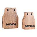 cheap Chandeliers-Ammoon Large & Medium 2pcs Cajon Box Drum Companion Accessory Castanets for Hand Percussion