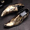 olcso Férfi félcipők-Férfi Formális cipők Nappa Leather Ősz / Tél Félcipők Túrázó Arany / Piros / Party és Estélyi / Újdonság cipők / Ruha cipő
