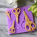 billige Bakeredskap-Bakeware verktøy Silikon Barn / Ferie / baking Tool For Godteri Cake Moulds 1pc