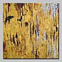 olcso Olajfestmények-Hang festett olajfestmény Kézzel festett - Absztrakt Absztrakt / Modern Anélkül, belső keret / Hengerelt vászon