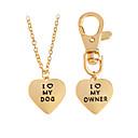 cheap Men's Necklaces-Men's / Women's Bohemian Heart Pendant Necklace - Classic / Bohemian / Handmade Geometric Gold / Silver Necklace For Party / Graduation