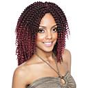 olcso Hajfonat-Hajfonás afro / Horgolás / Göndör szövés Göndör fonás / Emberi haj tincsek 100% kanekalon haj / Kanekalon 60 gyökér / csomag Hair Zsinór Ombre Napi