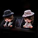 cheap Car Pendants & Ornaments-Car Air Purifiers Cartoon Car perfume Plastic Aromatic function Remove unusual odor