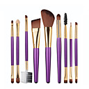cheap Makeup Brush Sets-1set Makeup Brushes Professional Makeup Brush Set / Blush Brush / Eyeshadow Brush Synthetic Hair Beech Wood