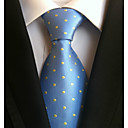 preiswerte Herrenmode Accessoires-Herrn Büro Grundlegend Hals-Binder Punkt