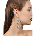 cheap Earrings-Women's Layered Drop Earrings - Ball Personalized, Fashion, Multi Layer Pink / Black / White / Light Blue For Daily Evening Party Street