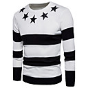 cheap Speakers-Men's Basic Street chic Long Sleeves Pullover - Color Block Round Neck