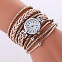 cheap Women's Watches-Women's Bracelet Watch Cool / Casual Watch PU Band Casual / Fashion Black / White / Beige