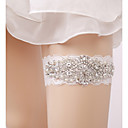 cheap Wedding Garters-Lace Wedding Wedding Garter with Rhinestone Imitation Pearl Garters