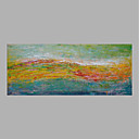 cheap Landscape Paintings-Oil Painting Hand Painted - Landscape Abstract Canvas