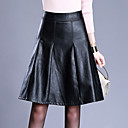 cheap Jewelry Sets-Women's Plus Size A Line Skirts - Solid Colored