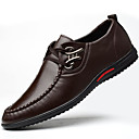 cheap Night Lights-Men's Shoes Leatherette Fall / Winter Formal Shoes Oxfords Black / Brown / Blue / Party & Evening
