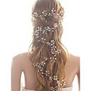 ieftine Set de Bijuterii-Cristal Imitație de Perle Banderolele Instrumentul pentru păr Lantul Capului 1 Nuntă Party / Seara Diadema