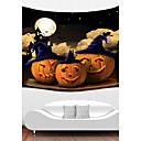 preiswerte Wandteppiche-Urlaub Wand-Dekor Polyester Halloween Wandkunst, Wandteppiche Dekoration