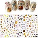baratos Acessórios para Manicure & Pedicure-1 pcs Autocolantes de Unhas 3D Ferramentas de bricolage Adesivos arte de unha Manicure e pedicure 3D Fashion Diário / Etiquetas de unhas 3D