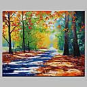 זול ציורי נוף-ציור שמן צבוע-Hang מצויר ביד - L ו-scape אומנותי חוץ כלול מסגרת פנימית