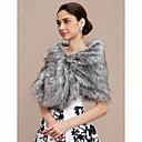 cheap Wedding Wraps-Faux Fur Wedding / Party / Evening Women's Wrap With Shawls