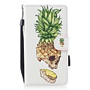 cheap Cell Phone Cases & Screen Protectors-Case For Huawei P10 Lite Card Holder Wallet with Stand Flip Magnetic Pattern Full Body Cases Fruit Hard PU Leather for P10 Lite P8 Lite