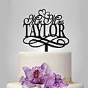cheap Cake Toppers-Cake Topper Classic Theme / Wedding Plastic Wedding with 1 pcs Poly Bag