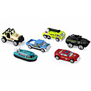 olcso Tudományos játékok-Rendőrautó Toy Teherautók és építőipari járművek Játékautók 1:64 Gyermek Fiú Lány Játékok Ajándék