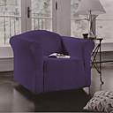abordables Fundas Removibles-Cobertor de Sofá Un Color Impreso 100% Poliéster Fundas