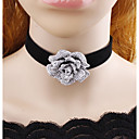 cheap Science & Exploration Sets-Women's Choker Necklace - Flower Classic Black Necklace For Casual, Stage