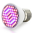billige LED-lyspærer-1pc 2.5 W 360-420LM E26 / E27 Voksende lyspære 60 LED perler SMD 2835 Rød / Blå 85-265 V / 1 stk. / RoHs / FCC