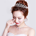 cheap Party Headpieces-Crystal / Imitation Pearl Tiaras / Headbands with 1 Wedding / Party / Evening Headpiece