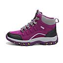 cheap Softshell, Fleece & Hiking Jackets-Women's Running Shoes Hiking Shoes Mountaineer Shoes Non-Slip Tread Hiking Trail Nubuck leather Fuchsia Sky Blue Grey