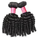 זול תוספות שיער אומברה-2 חבילות שיער פרואני גלי משוחרר שיער אנושי טווה שיער אדם 10-28 אִינְטשׁ שוזרת שיער אנושי תוספות שיער אדם