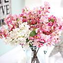 baratos Adesivos de Parede-Flores artificiais 1 Ramo Europeu Sakura Flor de Mesa