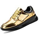 cheap Men's Oxfords-Men's PU(Polyurethane) Spring / Fall Comfort Sneakers Gold / Black / Gray