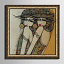 olcso Portrék-Bekeretezett vászon Bekeretezett szett Emberek Romantika Fantasy Wall Art, PVC Anyag a Frame lakberendezési frame Art Nappali szoba