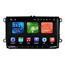 baratos DVD Player para Carros-9inch 2 Din 1024 x 600 Android 7.1 DVD Player Automotivo para Volkswagen Alta Definição Bluetooth Sem fio Integrado satélite RDS sem fio