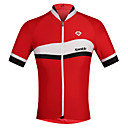 cheap Cycling Jerseys-SANTIC Men's Short Sleeve Cycling Jersey British Bike Ultraviolet Resistant, Breathable, Sweat-wicking Polyester