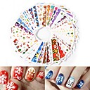 cheap Memory Cards-45 pcs Water Transfer Decals nail art Manicure Pedicure Fashion Daily